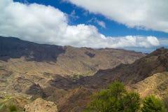 la för kanariefågelgomera öar Royaltyfria Bilder