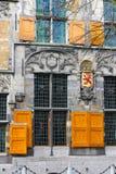 La façade d'une construction historique Image libre de droits
