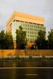 La façade d'une maison moderne Photos libres de droits