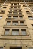 La façade d'une maison moderne Photo stock
