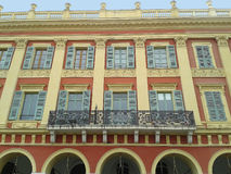 La façade de bâtiment carré de Massena photo libre de droits