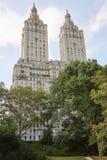 La façade de bâtiment de San Remo près du Central Park à New York Image libre de droits
