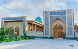 La façade de Khazrat Imam Mosque image stock