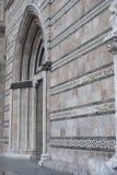 La façade de la cathédrale de Messine Images libres de droits