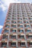 La façade de la construction Photo libre de droits