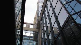 La façade en verre moderne clips vidéos