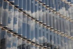 La fa?ade en verre images libres de droits