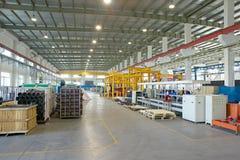 La fabbrica, corridoio del workshop Immagine Stock
