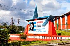 La fabbrica del cioccolato, fondata da Ernesto Che Guevara Fotografia Stock