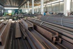 La fabbrica del ferro fotografia stock libera da diritti