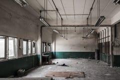 La fabbrica deve essere demolita Immagini Stock Libere da Diritti