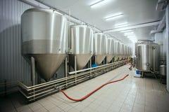 La fabbrica di birra rama Fotografie Stock Libere da Diritti