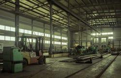 La fabbrica dove prodotto l'asta di perforazione Fotografia Stock Libera da Diritti