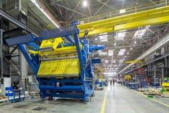 La fabbricazione interna del metallo Immagine Stock