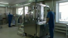 La fabricación de productos médicos metrajes