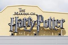 La fabricación de Harry Potter Foto de archivo