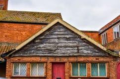 La facciata dell'asse del tetto Fotografia Stock