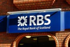 La facciata della banca reale della Scozia fotografia stock