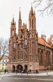 La facciata della chiesa di St Anne Immagine Stock