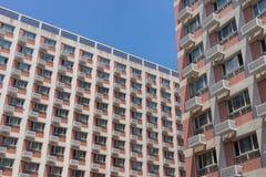 La facciata della costruzione Immagine Stock Libera da Diritti