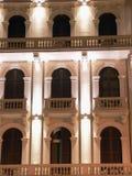 La facciata di un albergo di lusso Fotografia Stock Libera da Diritti