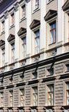La facciata di un monumento storico in San Pietroburgo Immagine Stock Libera da Diritti