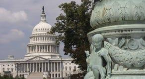 La facciata orientale della costruzione del Campidoglio degli Stati Uniti, Washington DC Immagini Stock