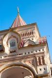 La fachada de la capilla ortodoxa Imagenes de archivo