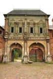 La fachada de la casa antigua Foto de archivo