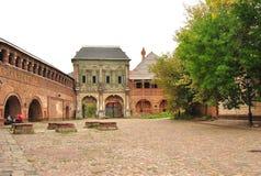 La fachada de la casa antigua Imágenes de archivo libres de regalías
