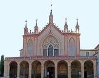 La fachada de la iglesia Fotografía de archivo libre de regalías