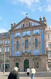 La fachada de las tejas del azulejo Fotos de archivo libres de regalías