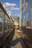 La fachada de un hogar moderno Imagenes de archivo