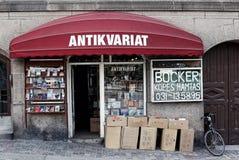 La fachada del almacén antiguo en Suecia Imágenes de archivo libres de regalías