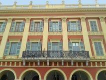 La fachada del edificio cuadrado de Massena foto de archivo libre de regalías