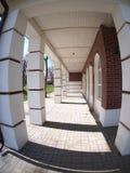 La fachada del edificio de la ciudad Fotos de archivo libres de regalías
