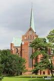 La fachada del oeste de la iglesia de monasterio de Doberan Imagenes de archivo