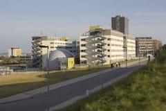 La facoltà dell'università tecnologica di Brno di comunicazione e di elettrotecnico fotografia stock libera da diritti