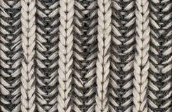 La factura de una tela de lana fotografía de archivo