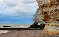 La Falasise d'Amont-Etretat Royalty Free Stock Photography
