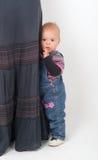 La falda de la madre Imagen de archivo libre de regalías