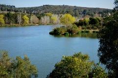 La Falda, toeristenstad in de bergen van Cordoba, Argentinië stock afbeelding