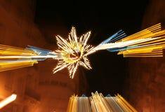 La fallas Leuchten Stockbilder