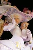 La fallas statues Stock Image
