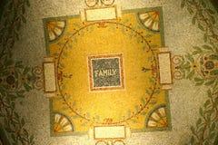 La famiglia è il hub di vita fotografia stock libera da diritti