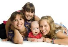 La famiglia Fotografie Stock Libere da Diritti