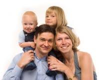 La famiglia Immagine Stock