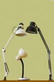La famiglia della lampada Immagine Stock Libera da Diritti