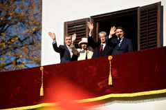 La famiglia reale della Romania Fotografia Stock