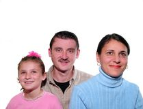 La familia fotos de archivo